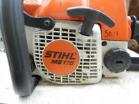 Stihl MS170 chainsaw
