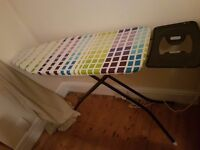 6 months old Minky medium ironing board
