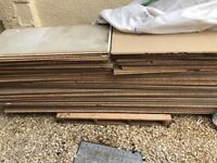 Tongue and grove chipboard