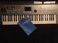 Yamaha MM6 Synthesizer keyboard with Manural