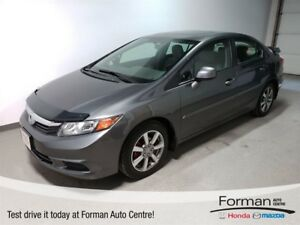 2012 Honda Civic EX | Alloys | Bluetooth | Sunroof | Local
