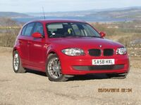 08/58 BMW 116I 5 DOOR, HISTORY, 2 FORMER KEEPERS, MOT JULY 2017.