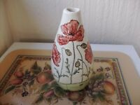 1 As new hand painted jenny bell of cumbria vase for sale in pristine condition stamped base