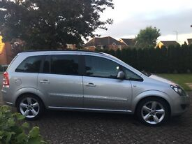 Vauxhall Zafira 1.6i 16v Exclusiv 2013 ('63' reg date 30/11/2013), Petrol, 1 Owner from new.
