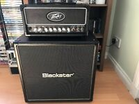 Peavey Valveking MH with Blackstar H-408 Speaker Cabinet