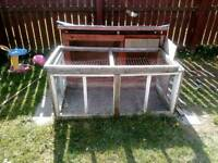 Rabbit hutch and run cheap