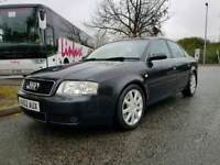 Black Audi A6 automatic saloon