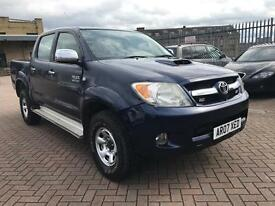 Toyota Hilux 3.0 D-4D HL3 Auto Leather 2007 NO VAT