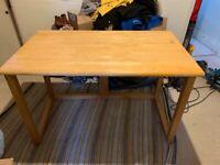 Versatile wooden desk