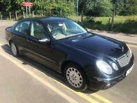 MERCEDES E220 W211 CDI ELEGANCE...2002/52 REG...DIESEL....STARTS AND DRIVES