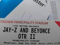 Beyonce tickets for cardiff 6th of June