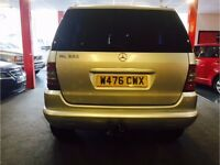 Mercedes ML320 Great Workhorse New Brakes & Service Just Done £1450 ono
