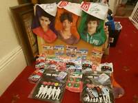 Official one direction merchandise 24 items including tablet cases and Christmas stocking