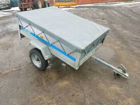 Sy150 galvanised trailer with water proof cover
