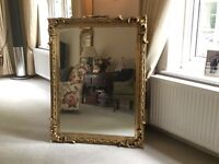 Victorian Gilt framed Mirror