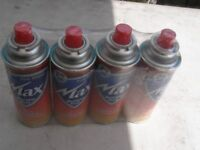 camping gas 4pks of 4 £5 each pack