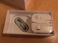 Apple iPhone box and genuine accessories