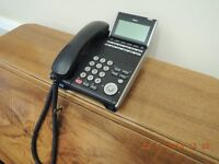 Nec office telephone system with 7 handsets - £250
