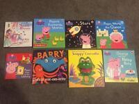Child's baby peppa pig books