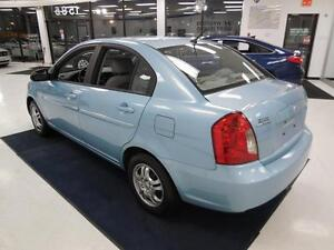2008 Hyundai Accent GL 1.6L Berline/Sedan 43$/semaine
