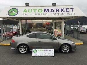 2006 Acura RSX COUPE, 5 SPD. WARRANTY TOO!!