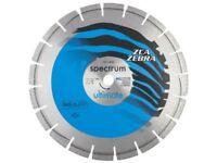 Spectrum ZCA zebra ultimate dual purpose diamond cutting blade