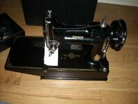 Rare Vintage Singer Featherweight Sewing Machine *** CENTENARY Edition ***