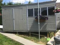 14ft x 8ft garden shed