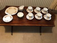 Colclough Avon vintage bone China tea set