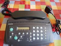 Fax / Telephone - Phillips HFC171