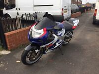 Gsxr 750 k1 not car not Zxr ninja super bike cheap bargain