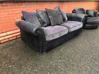 Dogs sofa & matching rotating chair, free delivery local