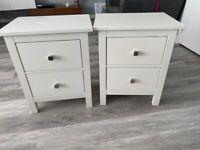 Ikea bedside tables x2