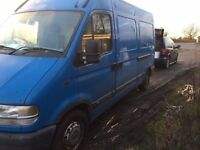 Vauxhall Movano Van (Spares and Repairs)
