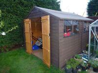 Garden shed 8X10
