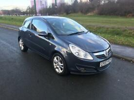 Vauxhall corsa warranty available