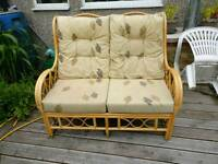 Conservatory two seater sofa