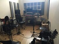 Just affordable and innovative Soundproofed Music Studio with great amenities at an awesome Address.