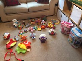 Bundle of toys aged 0-3 years