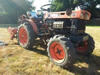 Kabuta b6000 4wd compact tractor