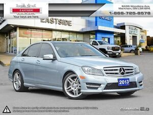 2013 Mercedes-Benz C350 4MATIC NAVI!! POWER SEATS ! LEATHER