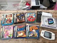 Gameboy Advance with Games Boxed
