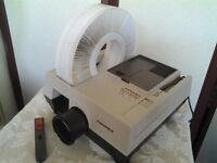 Hanimex 35mm Slide Projector and Accessories