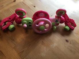 Baby girl Buggy Activity Toy