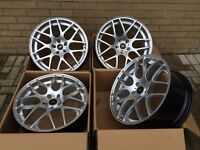 "4BRAND NEW BOXED 18"" ALLOYS WHEELS BMW CS STYLE M3 M4 M5 M6 E46 E90 E92 E93 E60 E61 M SPORT"