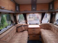 Sterling Eccles Topaz 2007- 2 Berth touring caravan - excellent condition for year plus motor mover