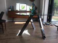 Glass Dining Table (seats 4)