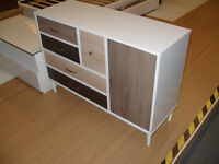 Hygena Birkdale 5 Drawer 1 Door Sideboard. (Please call - Michal 07851770393)