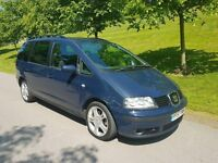 2008 57 SEAT ALHAMBRA 2.0TDI STYLANCE EXCELLENT 7 SEATER ~PART EX TO CLEAR~ FULL MOT~CAMBELT CHANGED