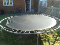 10ft trampoline, no net